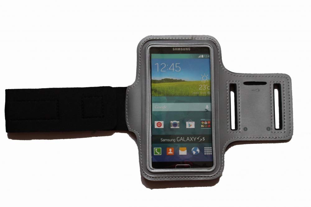 Sport-Armband Schwei/ßfest Schutztasche f/ür Huawei Mate 10 Lite Fitness Handyh/ülle Armtasche mit Kopfh/öreranschluss Laufen Blank L Weiss