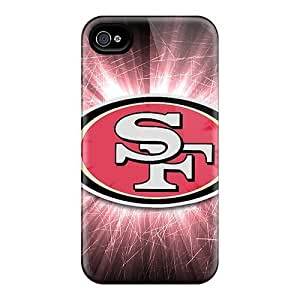 Durable Defender Cases For Iphone 4/4s Covers(san Francisco 49ers)