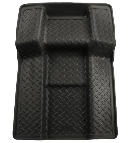 Husky Liners Custom Fit Molded Center Walkway Between 2nd Row Bucket Seats for Select Chevrolet/Cadillac/GMC Models (Tan)