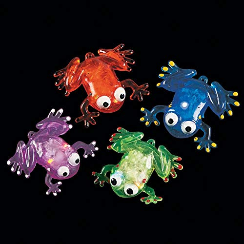 Flashing Squishy Frogs with Beads]()