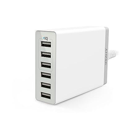 【23時まで】Anker PowerPort 6 Lite 30W 6ポート USB急速充電器 送料込2,000円