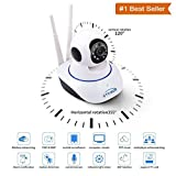 Rewy Wireless HD IP Wifi CCTV Indoor Security Camera Stream Live Video in Mobile or Laptop - White