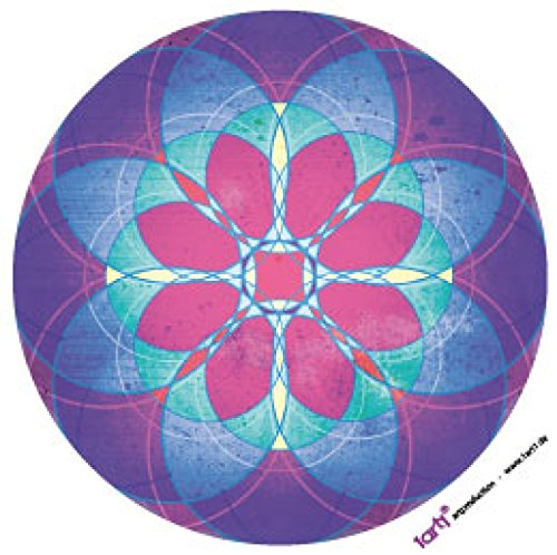 1art1 Mandalas Sticker Adhesive Decal - Spiritual Journey, Wisdom, Inner Peace and Magic (4 x 4 inches) from 1art1