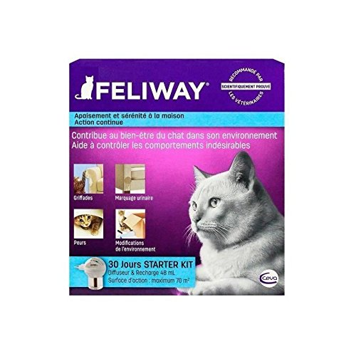 Ceva Animal Health C23830c Feliway Starter Kit Diffuser, 48ml by Ceva