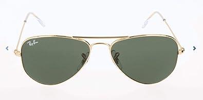 Amazon.com: Ray-Ban RB3044 Aviator - Gafas de sol pequeñas ...