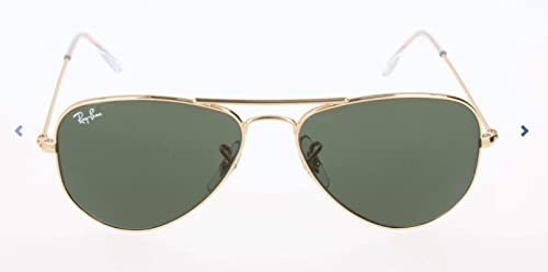 Ray-Ban RB3044 Aviator Small Metal Sunglasses