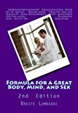 Formula for a Great Body, Mind, and Sex, Oreste Lombardi, 1468188313