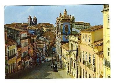 varig-brazil-airline-postcard-pelourinho-hill-salvador-brazil