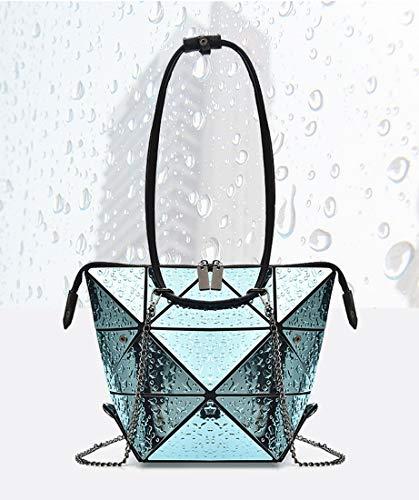 hombro Talla Minotta mujer de Bolso Azul para 21 Sintético MinottaUSB676 al Unica qffIpz