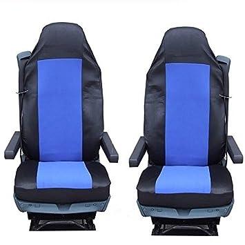 2x Lkw Sitz Sitzaufleger Blau Sitzbezüge Satz Hochwertig Neu Ovp Lkw Baby