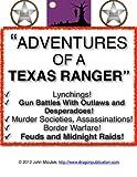 Adventures Of A Texas Ranger | Bill McDonald Texas Ranger
