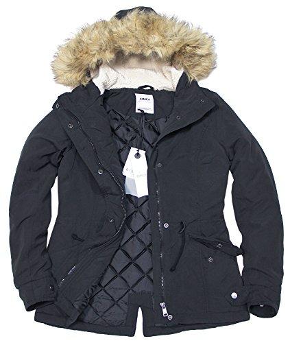 Jacket Short Sólo invierno la chaqueta Azul Parka clave Otw mujer Grafito 0wfSqPwR