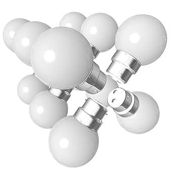 Chaud De 15w 24 Blanc Led Lot B22 Incassableséquivalence Ampoules Guirlande 1w 3000k Yfyb67g