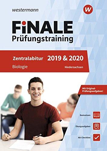 FiNALE Prüfungstraining Zentralabitur Niedersachsen  Biologie 2019 Und 2020