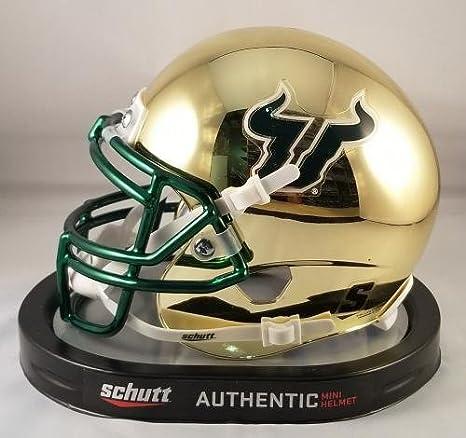 Amazon.com  Quinton Flowers Autographed Signed Mini Helmet USF Bulls - JSA  Certified - Autographed College Mini Helmets  Sports Collectibles edc29b1b9