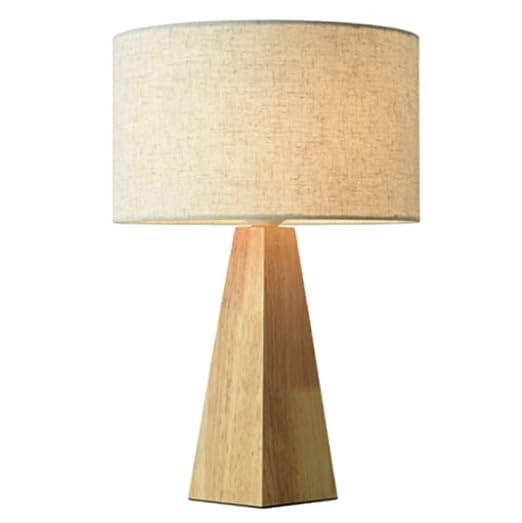 Lámpara de Escritorio Simple Cálido Tela Creativa Sombra Base de ...