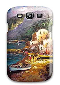 Sanp On Case Cover Protector For Galaxy S3 (oil Paintings )