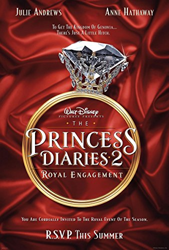 The Princess Diaries 2: Royal Engagement 2004 D/S Advance Rolled Movie Poster 27x40