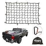 Cargo Nets for Pickup Trucks, 5'X7' Bungee Cargo