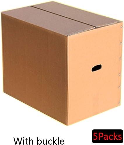 Dray 5 Paquetes de Cajas de Papel para mudanzas, Cajas de mudanzas ...