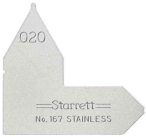 ASHATA Radius Gauge,4pcs Stainless Steel Radius Fillet Gauge Measuring Tool R0.3-1.5// R1-6.5// R7-14.5// R15-25,Portable Concave Convex Measuring Tool
