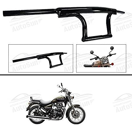 Autosun Bike Handle Bar Dual Triple Curved Pipe Handlebar Black For
