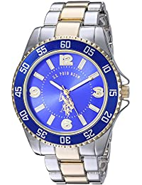 Men's Two-Toned, Royal Blue Dial, Automatic Quartz Metal/Alloy Fold-Over-Clasp Watch - USC80514