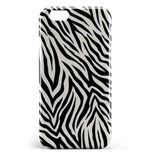 - BEETLE CASE Compatible iPhone 6/6s Case Black Zebra Print Unique Pattern Design Slim Fit Shell Hard Plastic Full Protective Anti-Scratch Resistant Cover