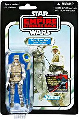 Star Wars: The Vintage Collection Action Figure VC95 Luke Skywalker (Hoth Outfit) 3.75 Inch