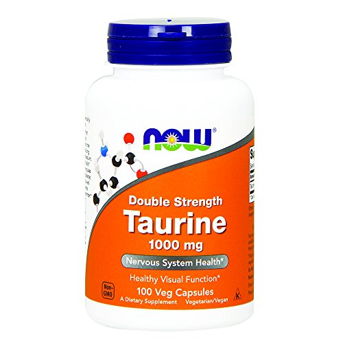 NOW Taurine 1000 100 Capsules product image