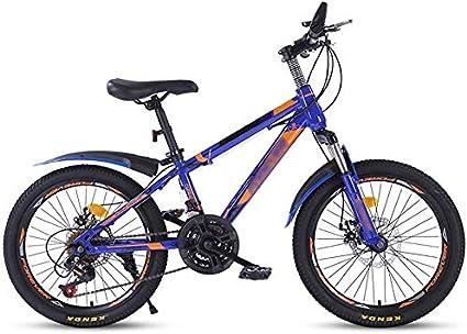 DX Bicicleta Monta/ña 20 Pulgadas Come Velocidad Variable para ni/ños untain Big Boy Primary School Studen 8 14 a/ños OL Neum/áticos Antideslizantes Resistentes al Desgaste