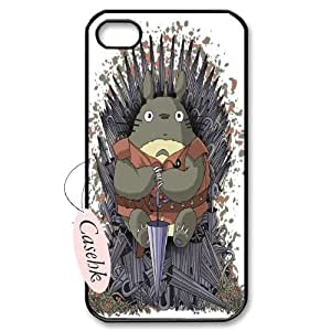 Casehk High Quality Cell Phone Case for iPhone 4,4G,4S, TOTORO iPhone 4,4G,4S Best Case, TOTORO Custom Cover Case