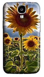 Samsung Galaxy S4 I9500 Hard Case - Sunflower 1 Galaxy S4 Cases hjbrhga1544