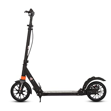 Patinete- Scooter Plegable Negro para Adultos Adolescente No ...