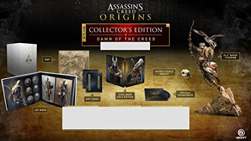 Assassin's Creed Origins Dawn of The Creed Collector's Edition [NO GAME] (Assassins Creed Origins Gods Collectors Edition Xbox One)