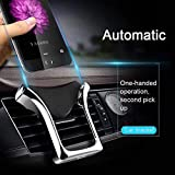 Car Phone Mount,Gravity Cell Phone Holder for car Air Vent Car Phone Holder Universal Car Cradle Mount Compatible iPhone Xs MAX/X/8/7, Galaxy Note 9/S9 Plus/S8/S7