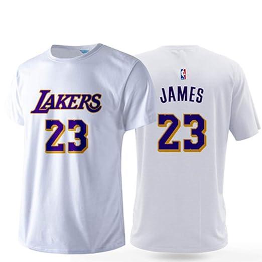 NBA T-Shirt Hombres Camisetas L.A Lakers James # 23 Baloncesto ...