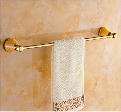 SFSYDDY-The Copper Material Vacuum Electroplating Technology European Single Towel Rack