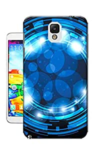Pinellia Shop Blue and Bright Aureole TPU Hard Phone Case for Samsung Galaxy Note 3