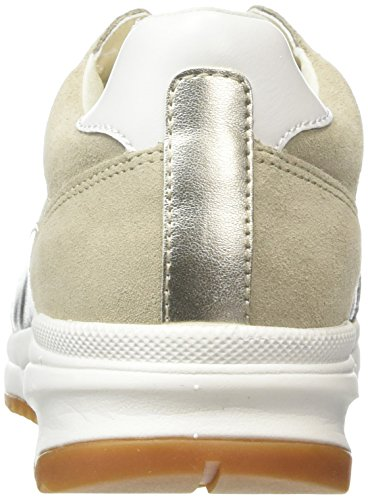 Femme C Geox lt Basses Taupe Beige Sneakers Airell IgBqx5BA