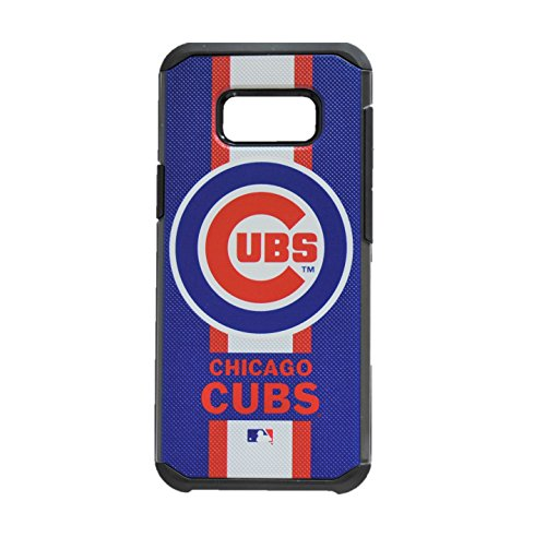 - Prime Brands Pebble Series Dual Layered Hybrid Case for Samsung S7 Edge MLB Chicago Cubs