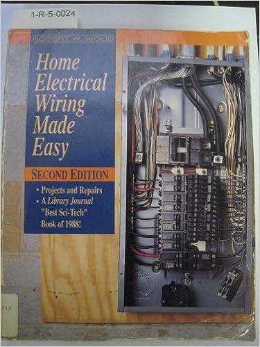 Remarkable Home Electrical Wiring Made Easy Amazon Co Uk Robert W Wood Wiring Cloud Venetbieswglorg