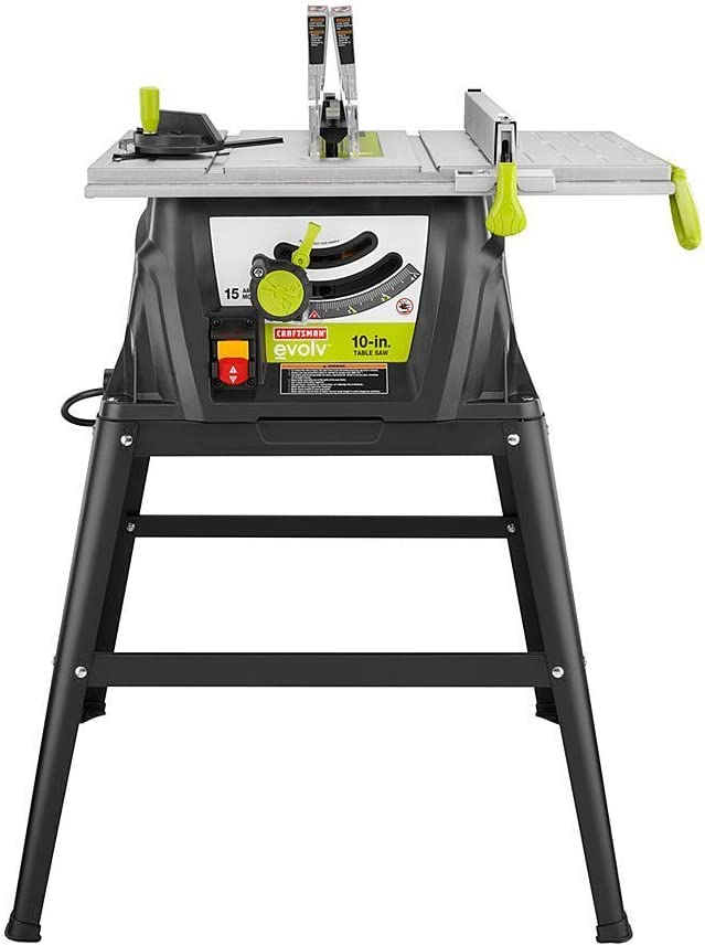 Craftsman Evolv 15 Amp 10 In. Table Saw 28461, Table Saws under $300