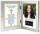 Poetry Gifts Confirmation Gift - Irish Blessing For Girl or Boy - Add Photo