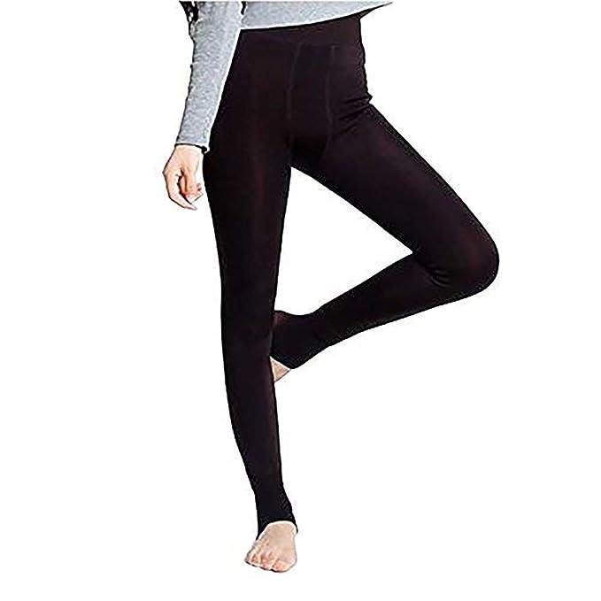 928c4513947d StillCool Sexy Damen Winter Leggings im Angesagten Style mit Innenfleece  Extra warm Innenfutter Fleece Leggins