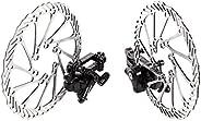 WINOMO Pair of MTB Bike Disc Brake Front Rear Disc Rotor Brake Kit for Mountain Bicycle