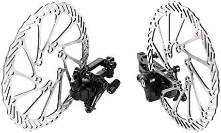 LIOOBO 1 par de Freno de Disco de Bicicleta mecánico Kit de Freno ...