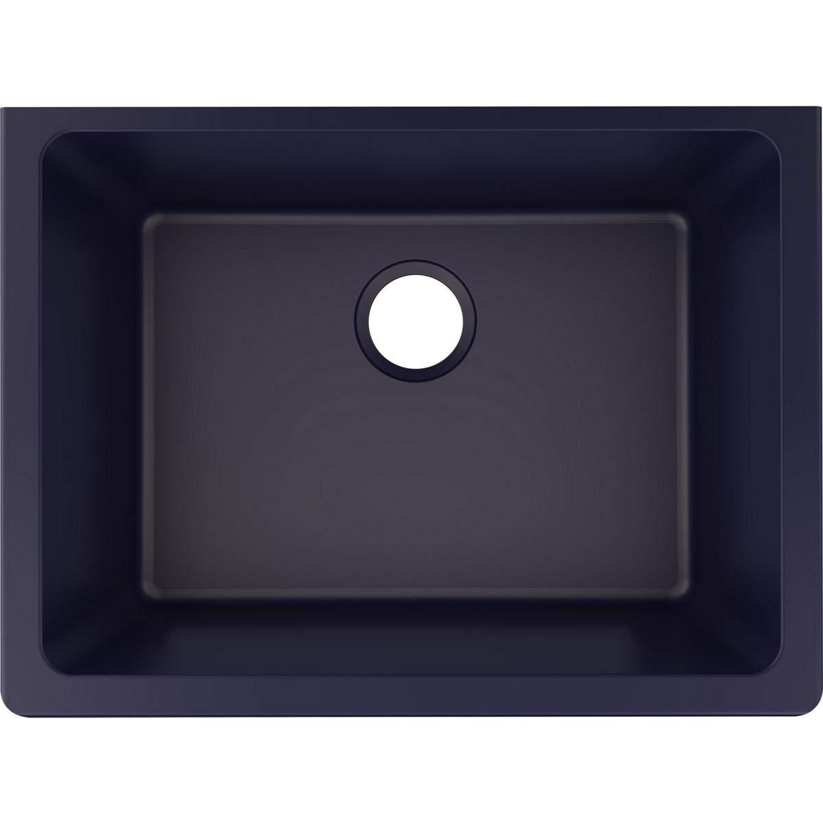 Elkay ELXU2522JB0 Quartz Luxe Single Bowl Undermount Sink, Jubilee