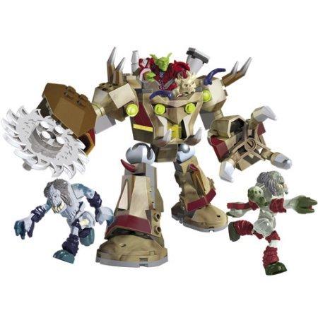 [Mega Bloks World of Warcraft Goblin Schreder Play Set] (Goblin Costume Wow)