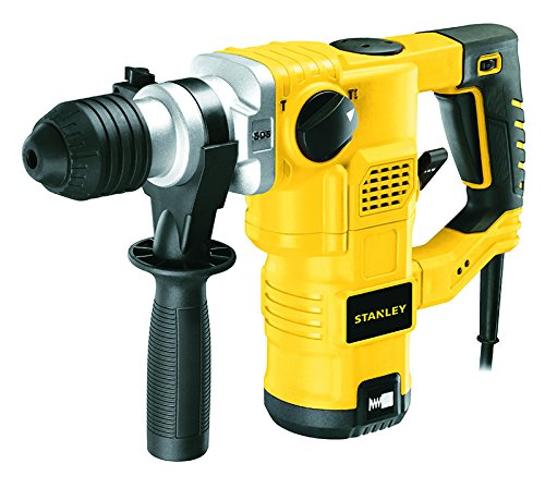 3 Mode Sds Hammer - Stanley Tools 3 Mode L-Shape SDS-Plus Hammer, 1250 W, 32 mm